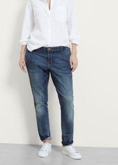 Chino-fit Rosalina jeans