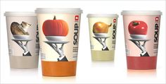 Delhaize Soup packaging design 20 Cool & Creative Food Packaging Design Assemblage For Inspiration