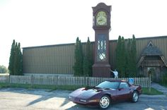 WORLD'S TALLEST GRANDFATHER CLOCK  Located in Kewaunee, Wisconsin