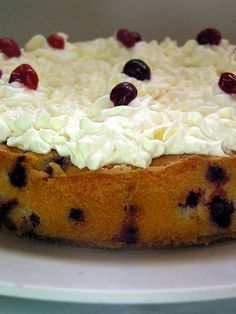 Recipe: Cranberry Cake