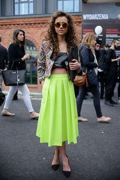 Street fashion na Fashion Week Poland, fot. Seweryn Cieślik/Magnifique Studio