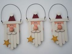 Kids Crafts diy crafts for kids christmas Kids Crafts, Christmas Crafts For Kids, Diy Christmas Ornaments, Christmas Projects, Handmade Christmas, Holiday Crafts, Christmas Holidays, Christmas Decorations, Santa Ornaments