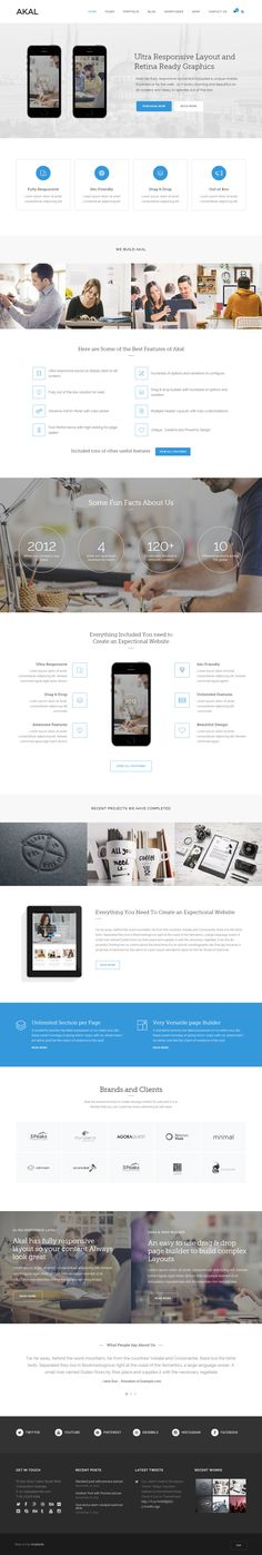 Akal is Premium full Responsive Parallax WordPress Multipurpose Theme. Retina Ready. WooCommerce. One Page. Video Background. http://www.responsivemiracle.com/cms/akal-premium-responsive-multipurpose-wordpress-theme/