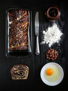 Babka s domácí nutellou – The Olive Grill Pan, Nutella, Grilling, Bread, Recipes, Food, Christmas, Griddle Pan, Xmas