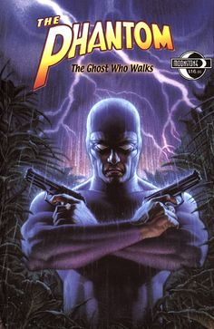 Lee Falk - Phantom: The Ghost Who Walks. Falk created the character so of course I'm going to like his representation best.