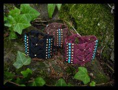 Simplicity bracelets by NagKanya on Etsy Christmas Ornaments, Holiday Decor, Colors, Bracelets, Model, Etsy, Christmas Jewelry, Scale Model