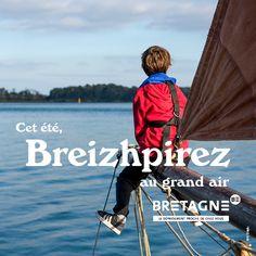 Découvrez toutes les appropriations des acteurs du tourisme bretons dans le cadre de la campagne #DépaysezVousenBretagne Création : Comité Régionale du Tourisme Bretagne Communication, Promotion, Baseball Cards, Sports, Texts, Rural Area, Actor, Brittany, Tourism