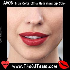 Avon True Color Ultra Hydrating Lip Color. Weightless color, Avon True Color Ultra Hydrating Lip Color...Finally a lip color that feels as good as it looks! Glide on super smooth vivid color that is free of heavy waves. Choose from gorgeous colors made with weightless gels for your perfect lip. Reg. $8. Shop online with FREE shipping with any $40 Avon purchase #Avon #CJTeam #Sale #TrueColor #Lips #Lipstick #Makeup #C20 #Indulgence #UltraHydrating #Cosmetics Shop Avon Online…