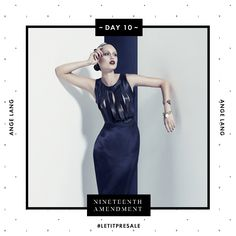Day 10: Join the dark side in our Superslit Dress from Ange Lang