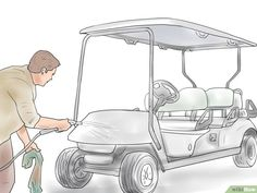 How to Paint a Golf Cart: 6 Steps (with Pictures) - wikiHow