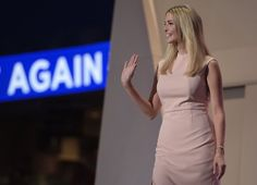 Pin for Later: Ivanka Trump's RNC Dress Looks Simple, but It Says a Whole Lot