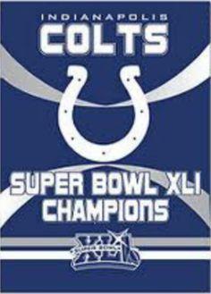 Indianapolis Colts Super Bowl XLI CHAMPIONS:)