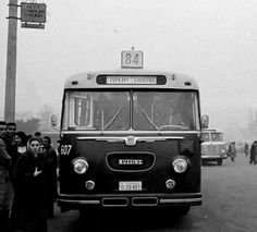 Old İstanbul bus '1950