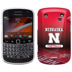 Nebraska Football Field Nebraska design on BlackBerry® 9900 9930 Case by Case Mate in White