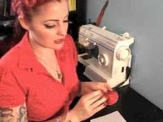 My youtube tutorial: How to make Burlesque Pasties (or nipple tassels for my UK Friends)