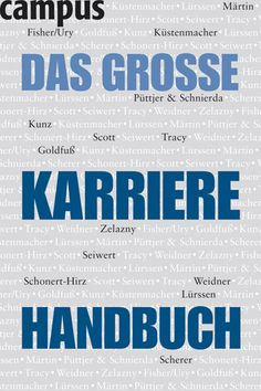 Hermann Scherer u.a.: Das grosse Karrierehandbuch