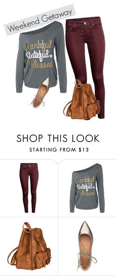 """""""Weekend Getaway"""" by nicollehart on Polyvore featuring moda, Yves Saint Laurent y Sigerson Morrison"""