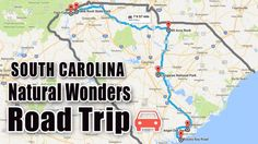 Take this ultimate natural wonders road trip in South Carolina to see the Palmetto State like you've never seen it before. Columbia South Carolina, South Carolina Vacation, North Carolina, Carolina Usa, Carolina Beach, North Dakota, Rv Travel, Places To Travel, Places To Go