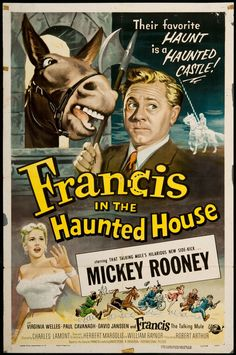 Francis the Talking Mule - Francis in the Haunted House.....1956