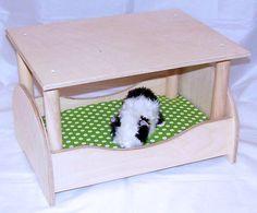 Kleintiere - Wunderschönes Himmelbett für Meerschweinchen+Decke - ein Designerstück von lazzyy bei DaWanda