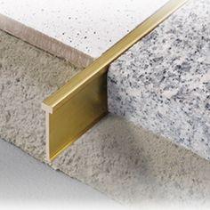 Dural TERRAZZO Decorative Brass Divider length from Premium Tile Trim, a leading supplier of Tile Trim in the UK. Terrazzo, Floor Transition Strip, Living Room Decor Elegant, Floors And More, Tile Trim, Floor Trim, Hallway Designs, Floor Patterns, Steel Furniture