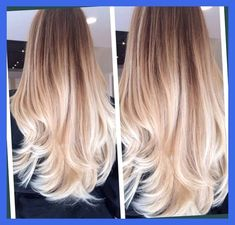 Trend Alert Ombre Hair The Pink Boutique Blog Brown Hair Fading To Blonde