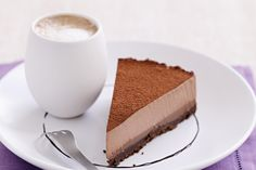 Triple chocolate mousse tart main image