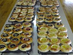 Kolache - Czech Pastry - These are the pastries that are made by the hundreds for the annual Tabor Czech Days in Tabor, SD e - Pastry Recipes, Dessert Recipes, Cooking Recipes, Dinner Recipes, Dinner Ideas, Bread Recipes, Strudel, Standard Recipe, Croissants