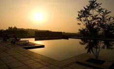Swimming pool at The Serai Chikmagalur, Karnataka, India