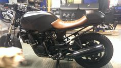 Cafe Racer Ninja 250 build aka the polished turd - Triumph675.Net Forums        Great long explanation post