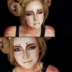 I think this is Aries makeup, but I love it for any supernatural/fantastical costumes!