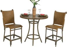 "Leaders Casual Furniture - Tahiti 3Pc. 36"" Round Counter Set, $1,079.97 (http://www.leadersfurniture.com/products/tahiti-3pc-36-round-counter-set.html)"