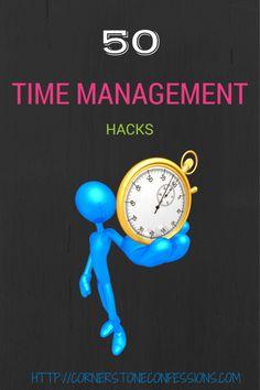 50 Time Management Hacks