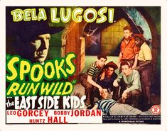 Experience them here in this great classic 1941 Spooks Run Wild also with BELA LUGOSI! Description from vintagewonderlust.wordpress.com. I searched for this on bing.com/images