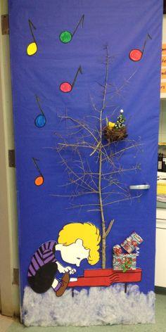 Snoopy classroom door