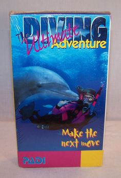 The ULTIMATE DIVING ADVENTURE Make the Next Move - VHS Tape - PADI Instructional
