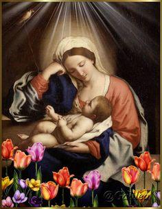 Imágenes religiosas de Galilea: Virgen María
