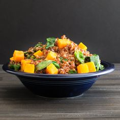 Warm Butternut Quinoa Salad