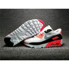 Herre Nike Air Max 90 Hvid Sort Orange| airlobeskodk.com Air Max 1, Nike Air Max, Air Max Sneakers, Sneakers Nike, Orange, Nike Tennis, Air Max