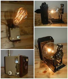 #Industrial, #Lamp, #Light, #Upcycled, #Vintage