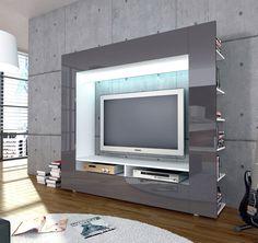roller tv wand olli wei hochglanz m bel wohnen online shop home idee pinterest. Black Bedroom Furniture Sets. Home Design Ideas