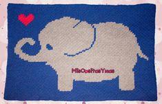 ✿.•*•.MisCositasYmas.•*•.✿: Manta bebé 🐘 elefante