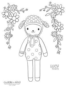 Easter Coloring Pages, Coloring Sheets For Kids, Printable Coloring Sheets, Coloring Pages For Kids, Coloring Books, Kids Colouring, Colouring Sheets, Cute Kids Crafts, Holiday Crafts For Kids