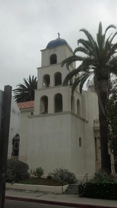 Cool church in Old Town San Diego