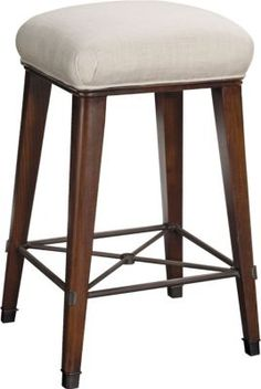 Newbury Swivel Backless Counter Stool From The 1911
