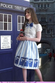 Cute Dr. Who Outfit
