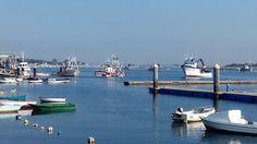 Puerto pesquero en la Ría de Punta Umbria