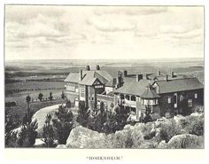 Hohenheim was the first of the Parktown mansions when completed in It was demolished in 1972 when the Johannesburg Academic Hospital was built. Johannesburg City, South African News, Victorian Photos, Historical Architecture, Historical Pictures, African History, Old Pictures, Landscape Photography