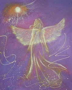 "Limited angel art photo ""touching soul"" , modern angel painting, artwork, perfect also for picture frame,spiritual gift,"