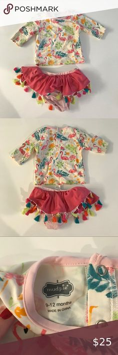 Mud Pie Dream in Glitter Unicorn Muslin Headband and Bloomer Set  0-6M 6-12M